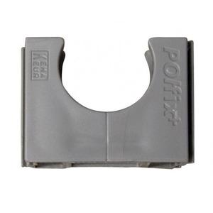 Pipelife Polfix VSV slagvast 19mm donker grijs RAL7037
